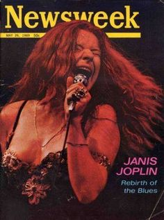"""I just watched a Dick Cavett interview with Janis filmed the week that she was on the cover of this Newsweek magazine. He asked her that when she wasn't working what artist she enjoyed listening to? She responded """"Tina Turner."""" He said """"Who?"""" She looked back at him with an odd stare and said """"No. Tina Turner."""" And that took him by surprise as he hadn't yet heard of her.  Made me feel old. Now Rowan & Martin's Laugh-In is on.  (TBT)"""