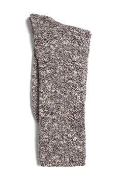 Two Feet Ahead Tweed Calf-High Brown Heather