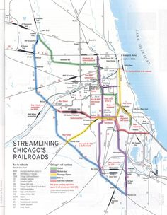 Chicago yards map