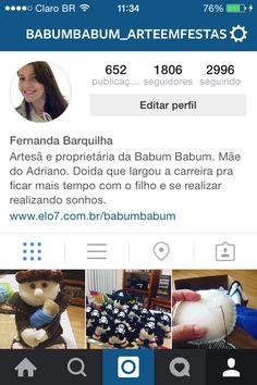 Meu instagram!