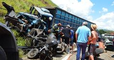 #News  Grave acidente na BR-116 deixa duas vítimas fatais e feridos