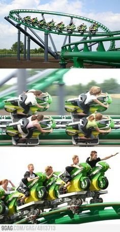 Funny pictures about Awesome bike roller coaster. Oh, and cool pics about Awesome bike roller coaster. Also, Awesome bike roller coaster photos. Universal Studios, Roller Coaster Ride, Roller Coasters, Rollercoaster Funny, Bike Rollers, Holland Europe, Amusement Park Rides, Lol, Best Funny Pictures