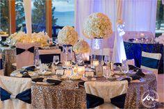 Silver & Blue Color Scheme - Inspiration for a Winter Wedding - Wedding Favors Unlimited Bridal Planning & Advice Blog