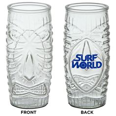 Tiki Cooler • 16 oz. • Make your cocktails stand out from the crowd with this tiki-styled head glass. • Rear decorating panel ideal for brand-boosting.