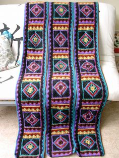 Ravelry: WonderWitch's Impressions Afghan