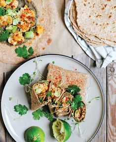Veggie Burritos (With Black Bean Hummus)