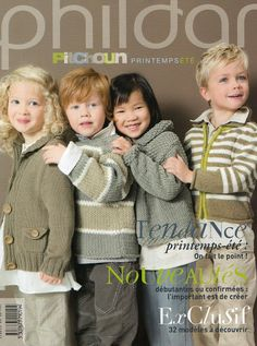 phildar n013 - emmalobo - Picasa Albums Web Vogue Knitting, Knitting Books, Knitting For Kids, Lace Knitting, Crochet Book Cover, Crochet Books, Knitting Magazine, Crochet Magazine, Baby Patterns