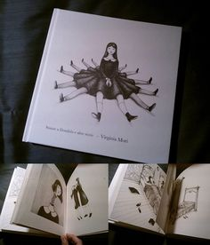 """__________________________________________________________________________________________________________________ """"VENTO"""" : animated book by Virgilio Villoresi and illustrated by Virginia Mori for..."""