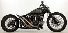 ϟ Hell Kustom ϟ: Harley Davidson By Rocket Bobs Cycle Works