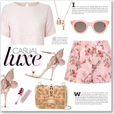 A fashion look from July 2016 by alexandrazeres featuring True Decadence, STELLA McCARTNEY, Sophia Webster, Valentino, Sun Buddies, Lime Crime, StellaMcCartney,...