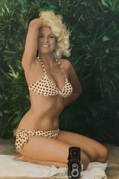 Bunny Yeager 1963 | serious babe | www.refinery29.com #pinup