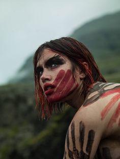 Iceland Isamaya Ffrench Josh Wilks Nick Royal makeup fashion