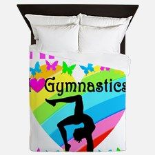 GYMNAST CHAMP Queen Duvet Your Gymnast will leap and flip for our personalized Gymnastics Duvets. http://www.cafepress.com/sportsstar/12969453 #Gymnastics #Gymnast #WomensGymnastics #Gymnastgift #Lovegymnastics #GymnasticsDuvet #Gymnasticsdecor #PersonalizedGymnast