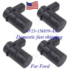 4x Reverse Backup PDC Parking Sensors For Ford F150 F250 4F23-15K859-AA US stock