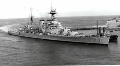 HMS Hood entering Malta Harbour during the Naval History, Military History, Hms Hood, Capital Ship, Heavy Cruiser, Man Of War, Navy Ships, Royal Navy, Uk Navy