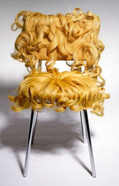 Contemporary Furniture Design, Unique Chair with Hair Unusual Furniture, Funky Furniture, Classic Furniture, Cheap Furniture, Furniture Design, Industrial Furniture, Furniture Ideas, Furniture Websites, Furniture Dolly