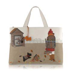 Potting Shed Grab Bag Radley Bags London Novelty Designer Leather Handbags