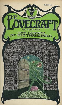 Uncle Doug's Bunker of Vintage Horror Paperbacks: Nothing But Lovecraft… Horror Books, Sci Fi Books, Horror Movies, Comedy Movies, Science Fiction Art, Pulp Fiction, Eldritch Horror, Hp Lovecraft, Rock Posters