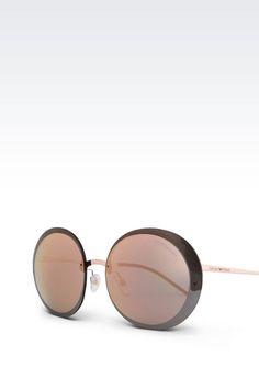 46fd39daaa Sonnenbrille Für Sie Emporio Armani - SONNENBRILLE AUS METALL Emporio Armani  Offizieller Online Store