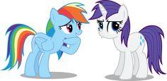 Rarity you got Dashed! Mlp My Little Pony, My Little Pony Friendship, Twilight Equestria Girl, Equestrian Girls, Little Poney, My Little Pony Pictures, Twilight Sparkle, Rainbow Dash, Furry Art