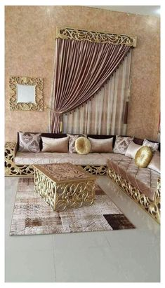 Living Room Tv Unit Designs, Living Room Sofa Design, Living Room Decor Cozy, Home Room Design, Big Living Rooms, Indian Living Rooms, Wooden Sofa Designs, Arabic Decor, Luxury Sofa