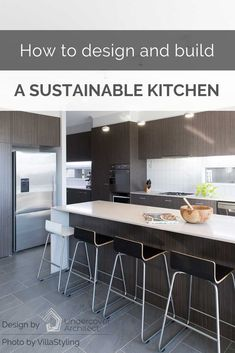 Druce Davey of Greener Kitchens shares his extensive knowledge and insight into how to design and build a sustainable kitchen (or bathroom) at your place! Green Kitchen Designs, Kitchen Remodel Before And After, Small Kitchen Storage, Minimal Decor, Kitchen Decor, Kitchen Ideas, Sustainable Design, Home Kitchens, Sustainability