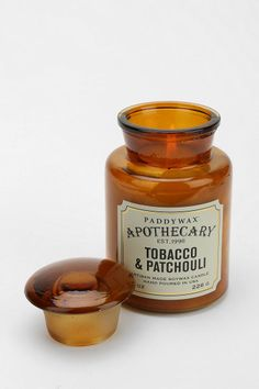 Paddywax Apothecary Tobacco & Patchouli Candle