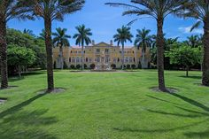 Tour a Beachfront Mansion in Naples, Fla. | HGTV.com's Ultimate House Hunt >> http://www.hgtv.com/design/ultimate-house-hunt/2015/curb-appeal/curb-appeal-beachfront-mansion-in-naples-florida?soc=pinhuhh