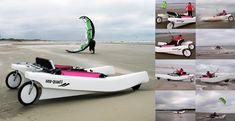 Sea-Quad : Un catamaran amphibie d'un concept innovant