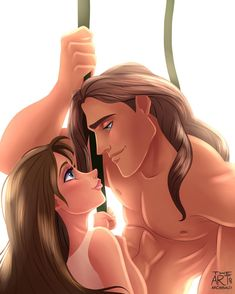Disney couples: Tarzan and Jane