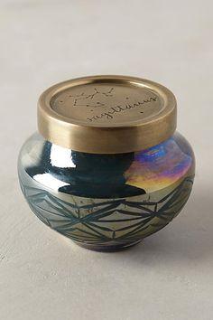 Capri Blue Zodiac Candle - anthropologie.com