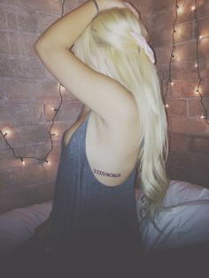 Roman Numeral Tattoo Placement