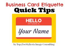 1000 images about Business Etiquette on Pinterest