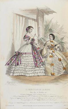 Le Moniteur de la Mode, 1860. | In the Swan's Shadow