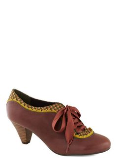 Model Home Heel in Brown, #ModCloth