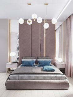 Bedroom Decor For Small Rooms, Master Bedroom Interior, Room Design Bedroom, Bedroom Furniture Design, Design Room, Bedroom Designs, Bedroom Wall, Bedroom Ideas, Modern Luxury Bedroom