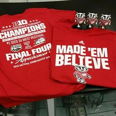 Brand new shirts just came in at State St!!! #MadeEmBelieve #BadgerBasketball