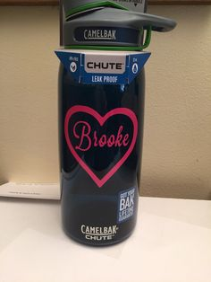 A personal favorite from my Etsy shop https://www.etsy.com/listing/267068996/monogrammed-camelbak-chute-1-liter-or-75