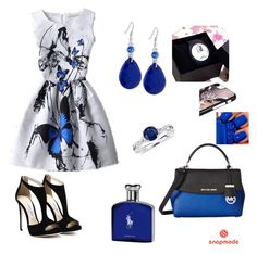 """""""Snapemade 10"""" by sabypolivore ❤ liked on Polyvore featuring GUESS, Blue Nile, MICHAEL Michael Kors and Polo Ralph Lauren"""