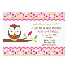 15 best owl first birthday invitations images on pinterest invites