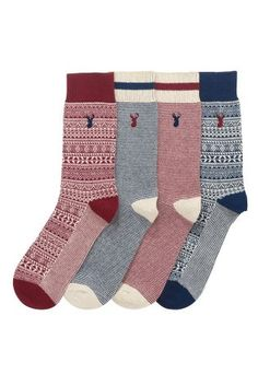 Cute and affordable patterned socks, because they always need some