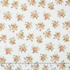 Tranquil Garden - Small Floral Grey Yardage
