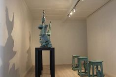 A bronze sculpture installation by Guy Du Toit which was made specifically for the launch of the Collector's Room. The exhibition runs until this coming Thursday 11 September 2014 at 5pm!
