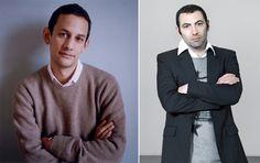 Jens Hoffman and Vincent Honoré David Roberts Art Foundation curator