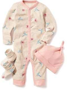 Bodysuit 3-Piece Set for Baby Product Image