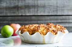 BEST apple cobbler! Packed with apples, not too sweet, with a ginger cobbler…