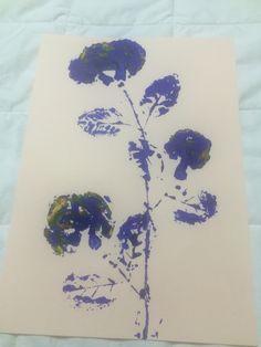 """All Blue."" Choi. 2015. Printmaking"