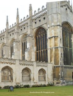 Gothic arches, tracery windows, carved stone, the library at King's College.  DUNHAVEN PLACE: The Day I Went to Cambridge and Channeled Rory Gilmore and Sidney Chambers