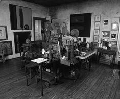 CAROL RAMA (artista italiana, 1918-2015). Casa estudi a Torino, Italia.