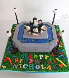 Celebrate with Cake!: Madagascar Penguin Cake